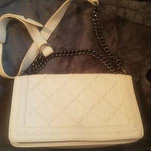 Forever 21 White crossbody bag